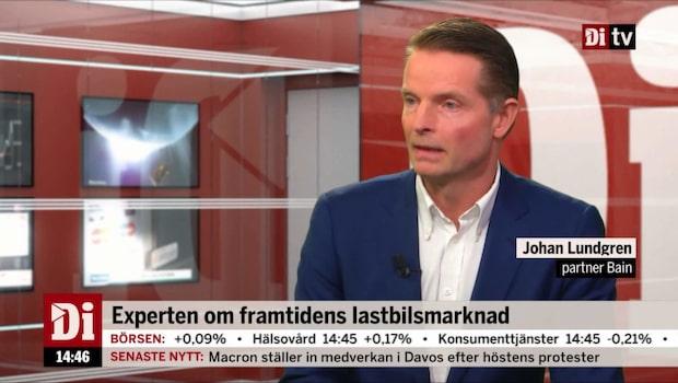 """Konsulten: """"Volvo-Scania står sig väldigt bra"""""""