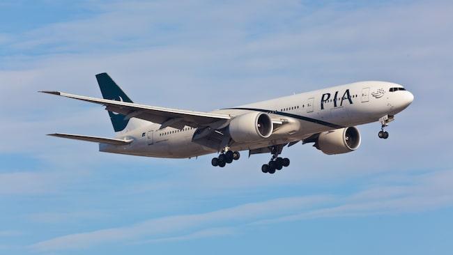 Piloten på Pakistan International Airlines är avstängd efter händelsen.