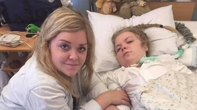Josefines tillstånd kommer fortsätta försämras, tills dess hennes kropp inte orkar längre. Foto: PRIVAT