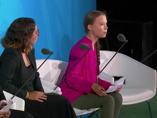 Se hela Greta Thunbergs tal i FN