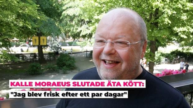Kalle Moraeus fick Artros inflammation – slutade äta kött