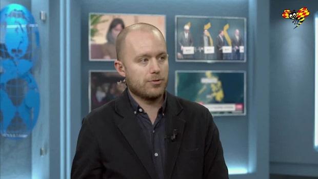 """Viktor Barth-Kron: """"Ett tydligt övertag för Stefan Löfven"""""""