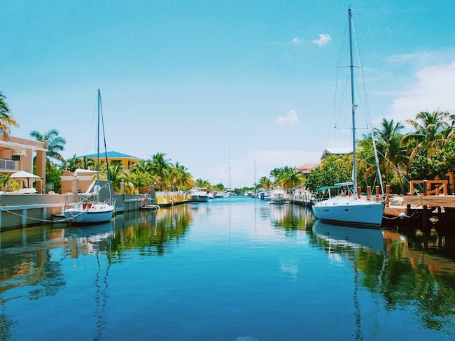 Key West, en av städerna på listan.
