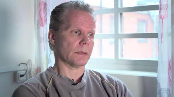 Från isoleringen i fängelset berättar Kaj Linna om livet i fängelset. Foto: Daniel Undegård