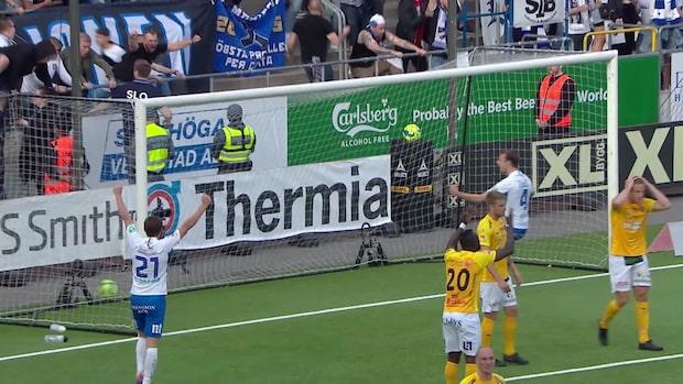 Höjdpunkter: Norrköping-Falkenberg