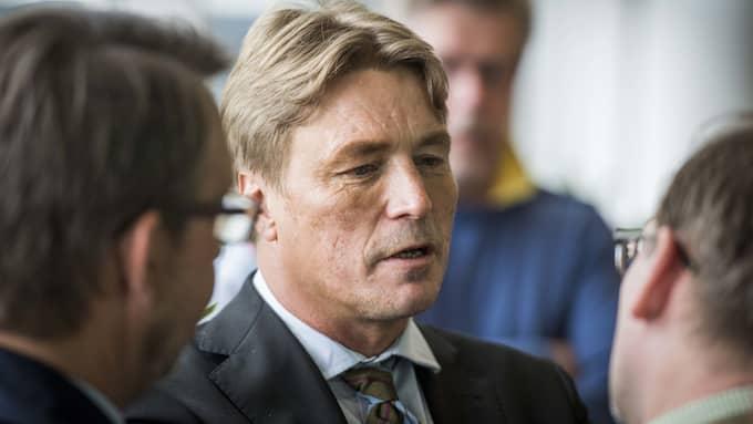 Thomas Bodström riskerar stämning efter pensionsskandalen i Allra. Foto: TOMAS LEPRINCE