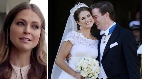 Okända kaoset innan Madeleines bröllop med Chris O'Neill