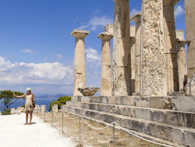 Möt det gamla Grekland på Egina.