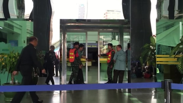 Bombexplosion i Bangkok - många skadade