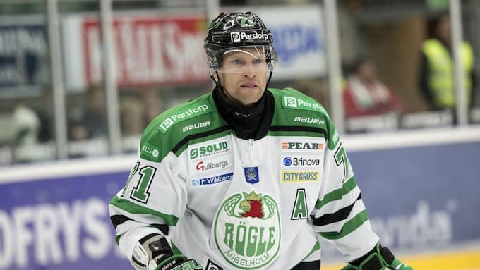 Tjärnqvist har ett förfutet även i Skåne-rivalen Rögle. Foto: ULF RYD / KVP/EXPR