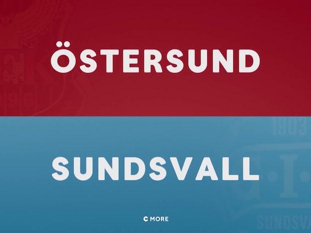 Höjdpunkter: Östersund - Sundsvall