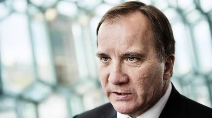 Stefan Löfven och S ska ha ställt ett ultimatum till MP: Gå med på förslaget eller så stängs gränserna helt. Foto: Anna-Karin Nilsson