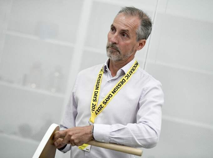 Torbjörn Lööf, vd för Inter Ikea, säger till Financial Times att Ikea kommer att testa sälja möbler via återförsäljare online. Foto: Johan Nilsson / TT NYHETSBYRÅN