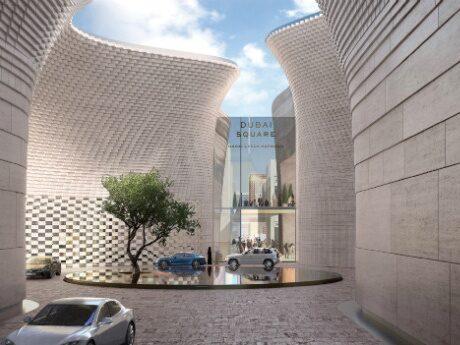Det nya köpcentrumet utformas med den moderna konsumenten i åtanke.
