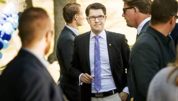 1 av 5 som röstat i den slutna polisgruppen skulle rösta på Jimmie Åkesson och SD om det var val i dag. Foto: Jens L'Estrade