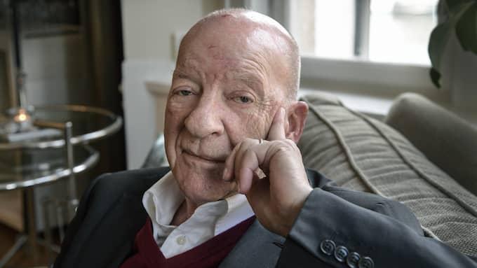 PG Gyllenhammar blev Mr Volvo med hela svenska folket under 70- och 80-talet. Foto: ANDERS WIKLUND / TT NYHETSBYRÅN