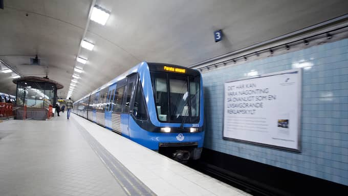 Stockholms tunnelbana.
