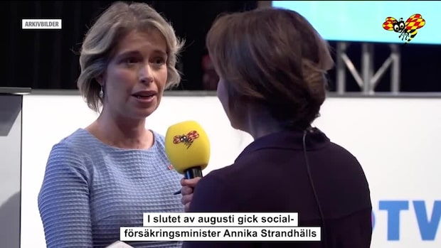 Annika Strandhäll avgår – efter sambons död