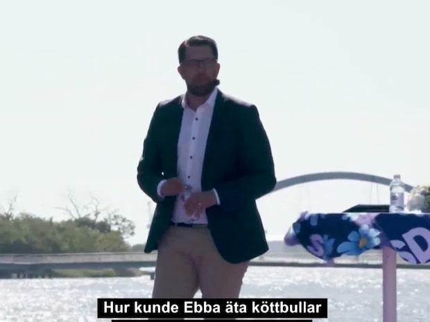 """""""Hur kunde Ebba äta köttbullar och potatismos med mig?"""""""