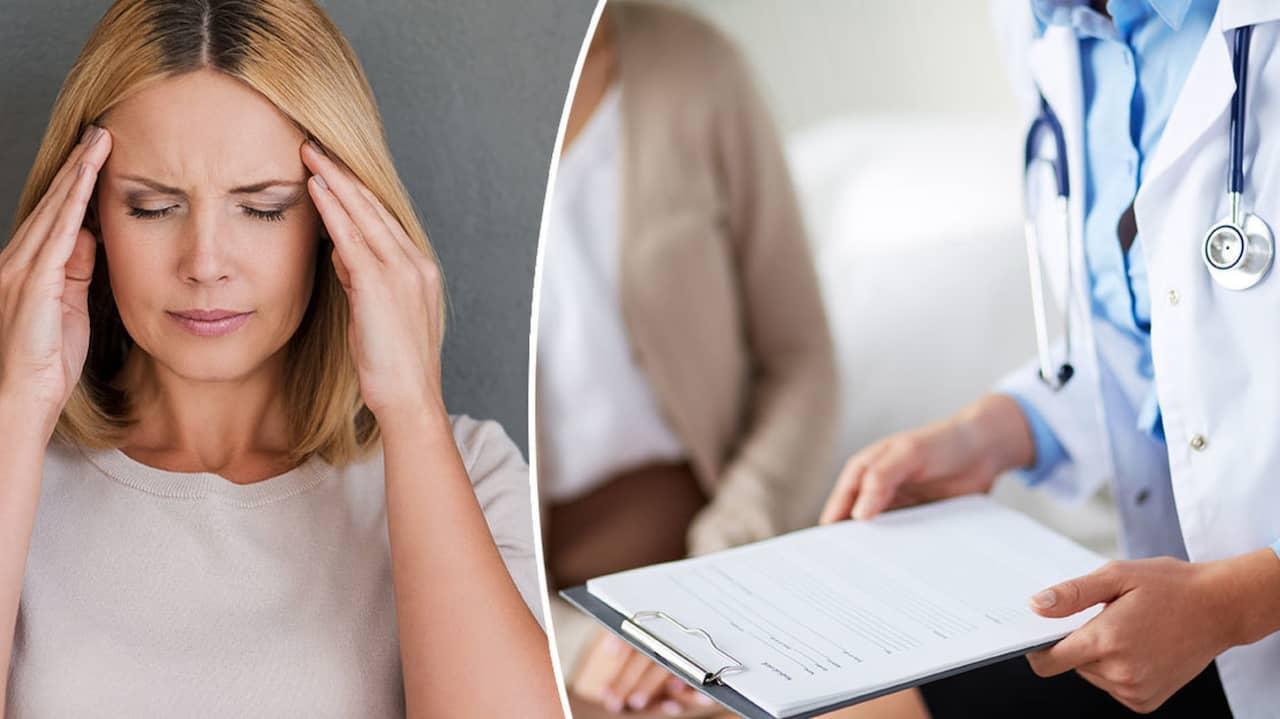 yrsel och ont i huvudet