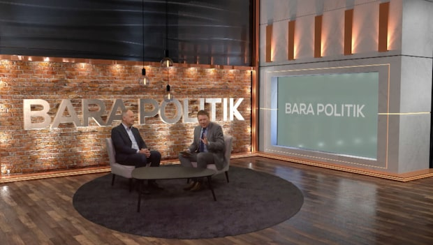 Se hela avsnittet av Bara politik 5 april 2017