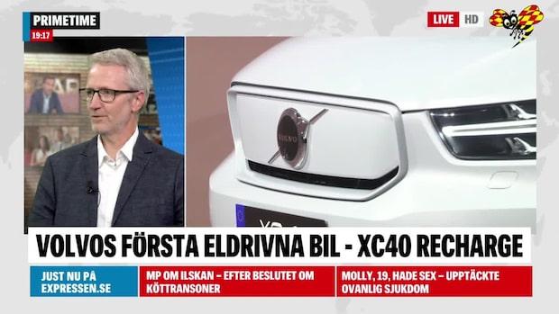 """Domen mot Volvos elbil: """"Ett väldigt stort skifte"""""""