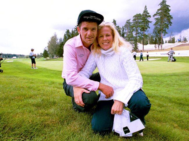 Mia Parnevik och Jesper har varit ett par i 30 år.