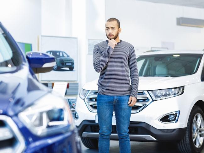 tänka på när man köper bil