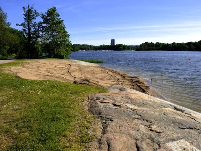 Brunnsviksbadet i Stockholm dömdes ut som otjänligt 11 juli.