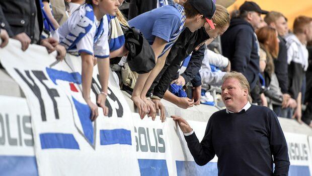 Blåvitts tränare Jörgen Lennartsson sparkad