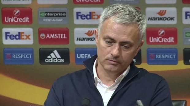 """Mourinho: """"Jag vill vara optimistisk men det är jag inte"""""""