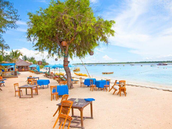 Underbara Giliöarna tillhör Lombok.