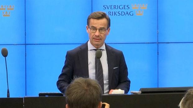 """Ulf Kristersson röstades ner: """"Stor dag för Löfven"""""""