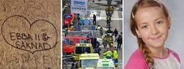 Ebba, 11, omkom i terrordådet på Drottninggatan – pappan startar minnesfond