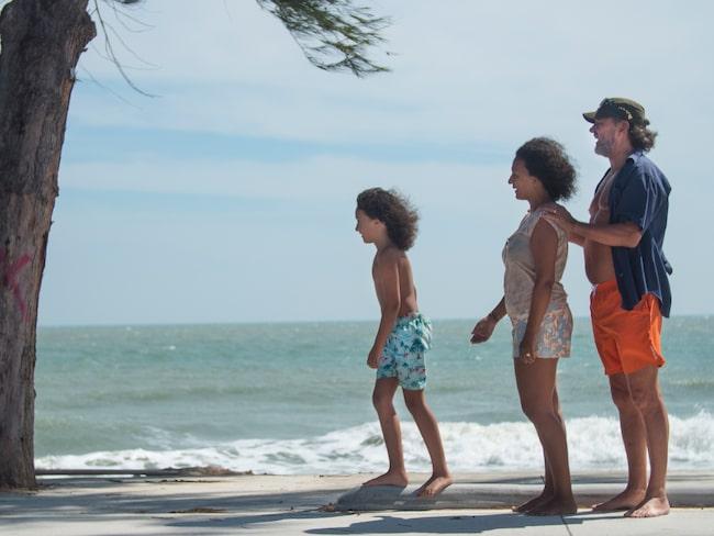 """I Thailand lever man livet utomhus. Vi bor i princip på stranden."""