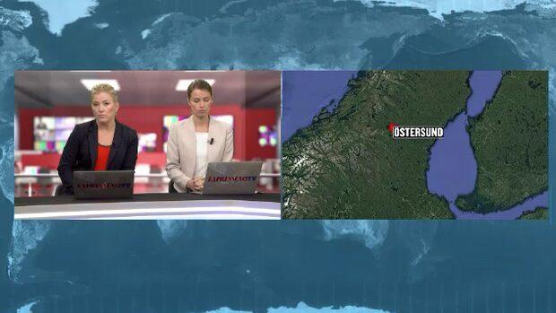 En gripen för mordförsök i Östersund
