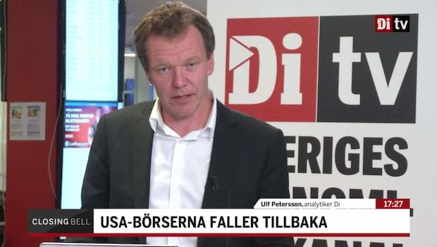 "Petersson om USA: ""Ränteoro pressar techsektorn"""