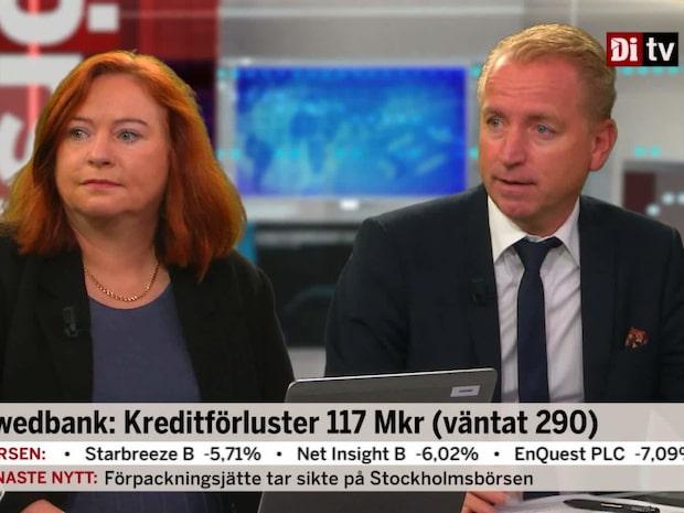 Analytikern: Swedbank bör öppna uppåt