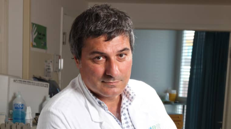 Paolo Macchiarini sparkas från Karolinska institutet. Foto: New Press Photo / Splash News