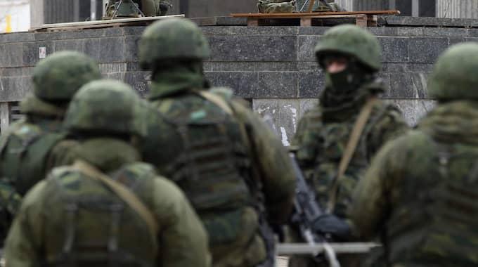Enligt säpo är det en handfull svenskar som strider i Ukraina. Bilden är tagen vid ett tidigare tillfälle. Foto: Sean Gallup
