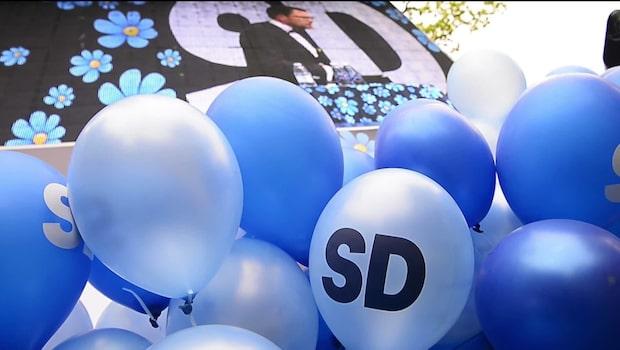 SD rasar i ny mätning – Moderaterna näst störst