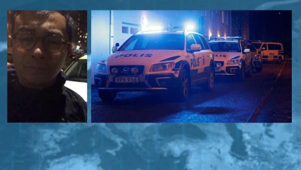 Göteborg: En person hittades skjuten utomhus
