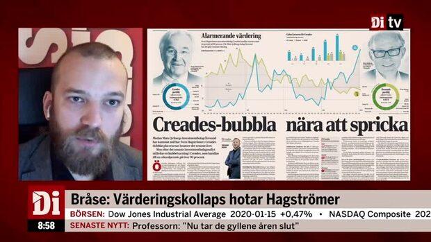 Bråse: Hagströmer borde sälja sina aktier