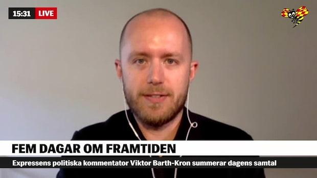 """Viktor Barth Kron: """"Kristersson har gått från liberal till konservativ"""""""