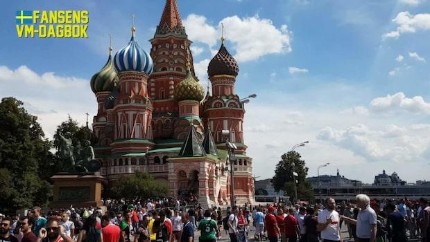 FANSENS VM-DAGBOK: Kärlek i Moskva