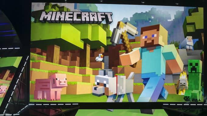 Spelet Minecraft har sålt i 122 miljoner exemplar. Foto: Damian Dovarganes / AP