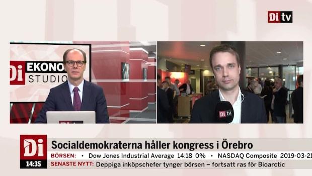 Socialdemokraterna håller kongress i Örebro