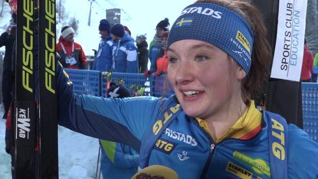 """Linn Persson efter fjärdeplatsen: """"Det känns okej"""""""