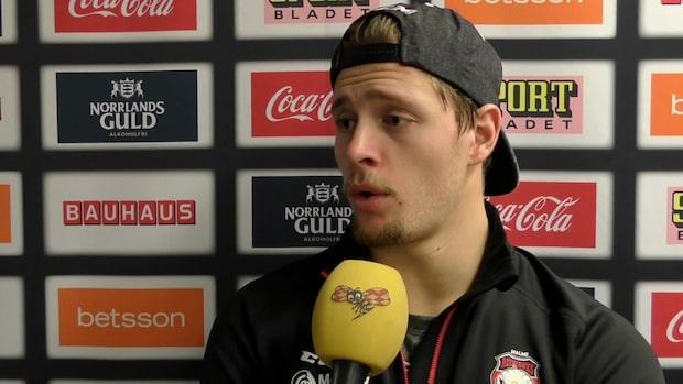 "Carl Persson: ""Jag har varit helt bedrövlig"""