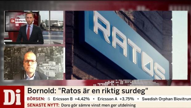 Ratos sänker utdelningen
